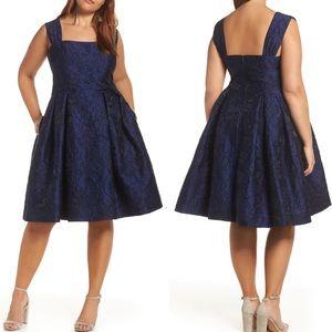 Gal Meets Glam • Annabelle Jacquard Dress